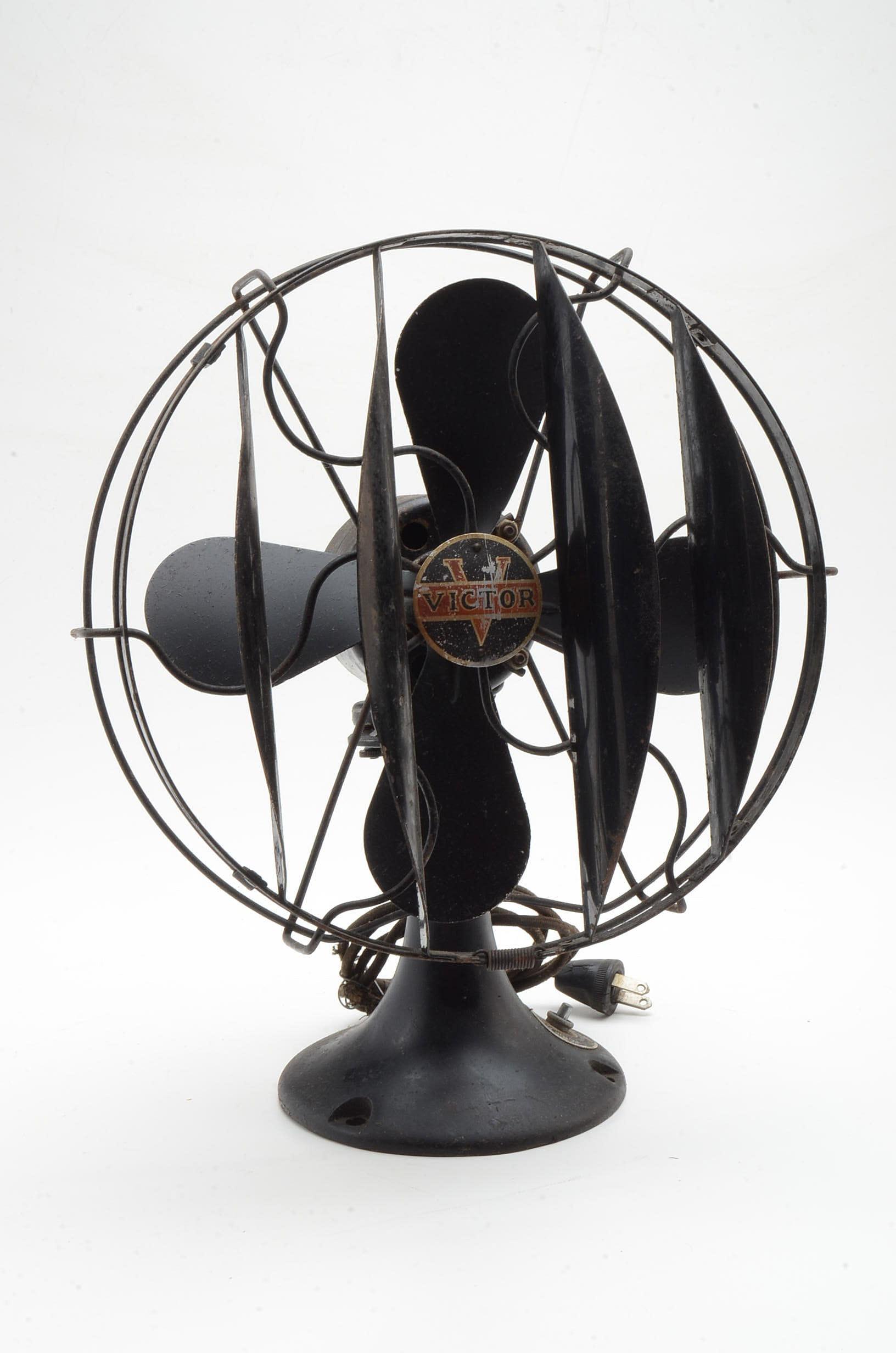 Vintage Victor Desk Fan