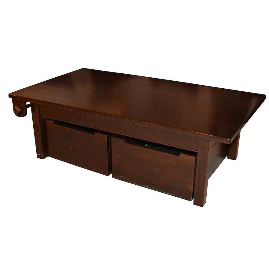 the land of nod activity table with storage bins and extra legs ebth. Black Bedroom Furniture Sets. Home Design Ideas