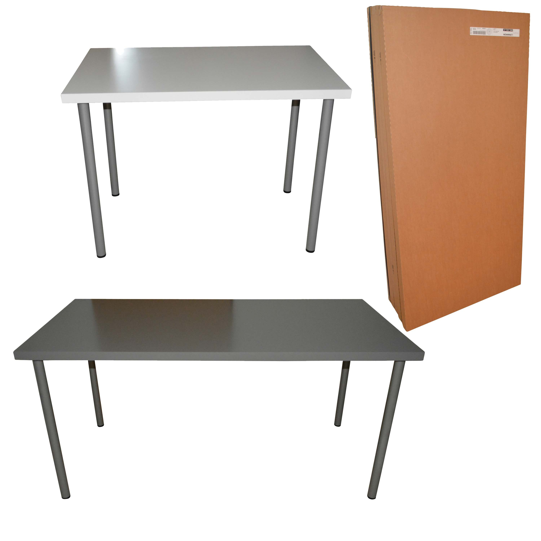 "7 IKEA ""Linnmon"" Tables"