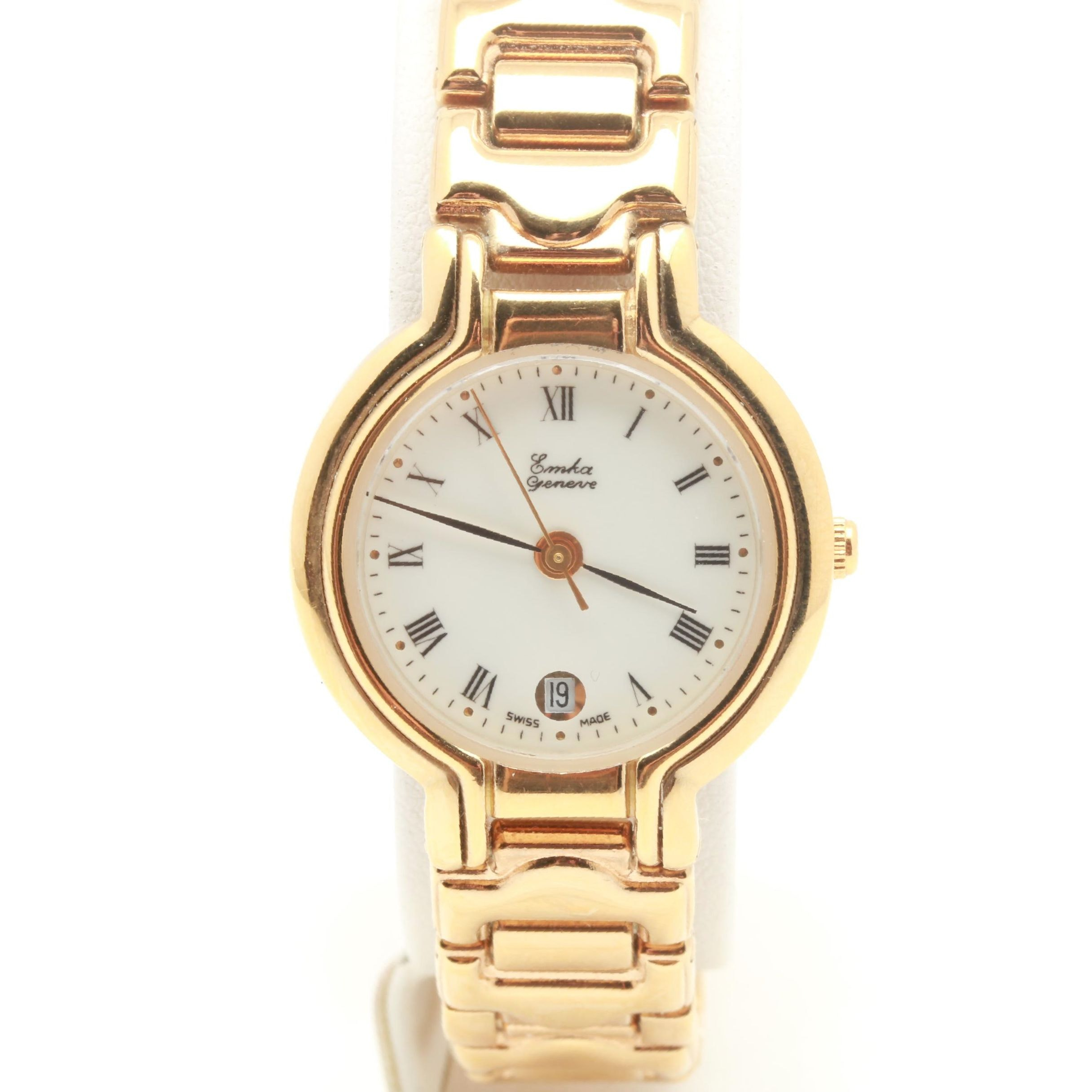 Emka Gold Tone Wristwatch