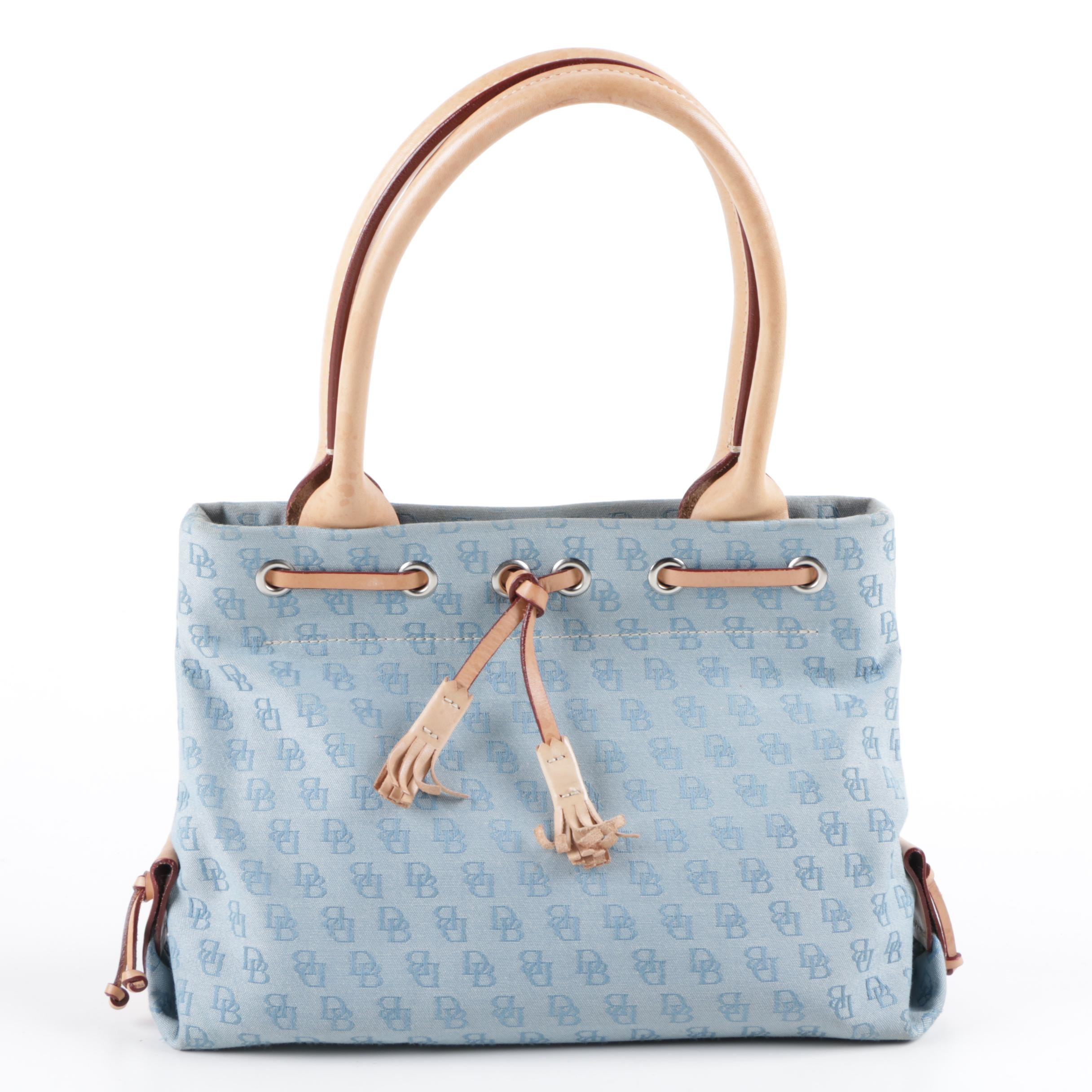 Dooney & Bourke Signature Canvas Tote Bag