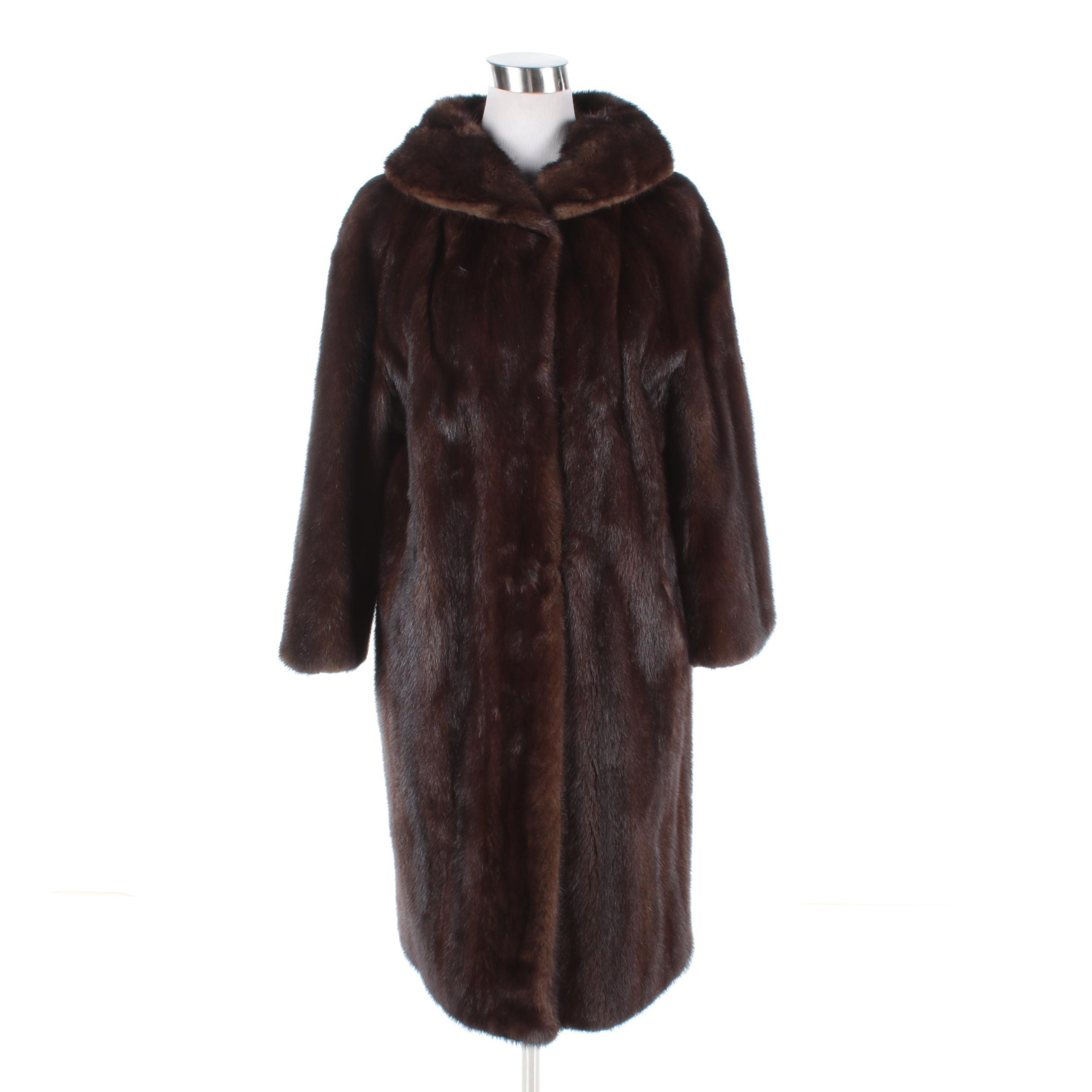 Women's Vintage Gatelys Mink Fur Coat