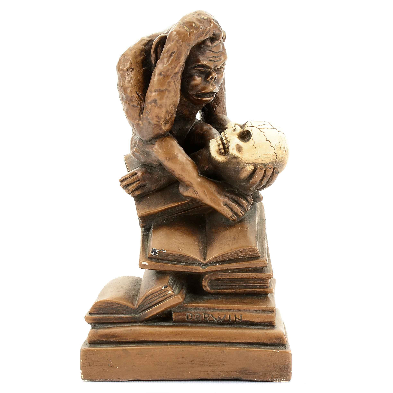 "Plaster Ape ""Darwin"" Statue by Marwal Industries, Inc."