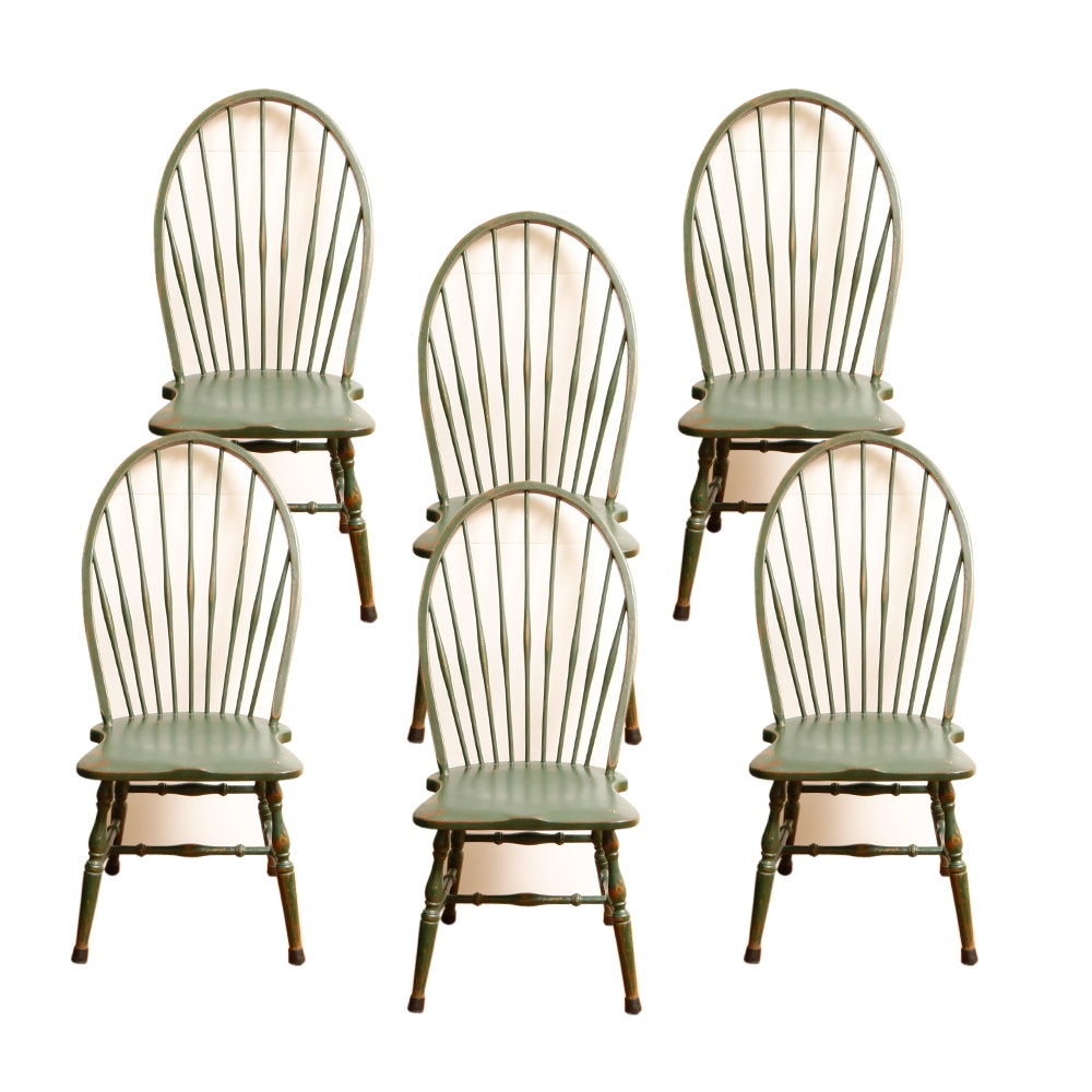 Vintage Painted Windsor Chairs