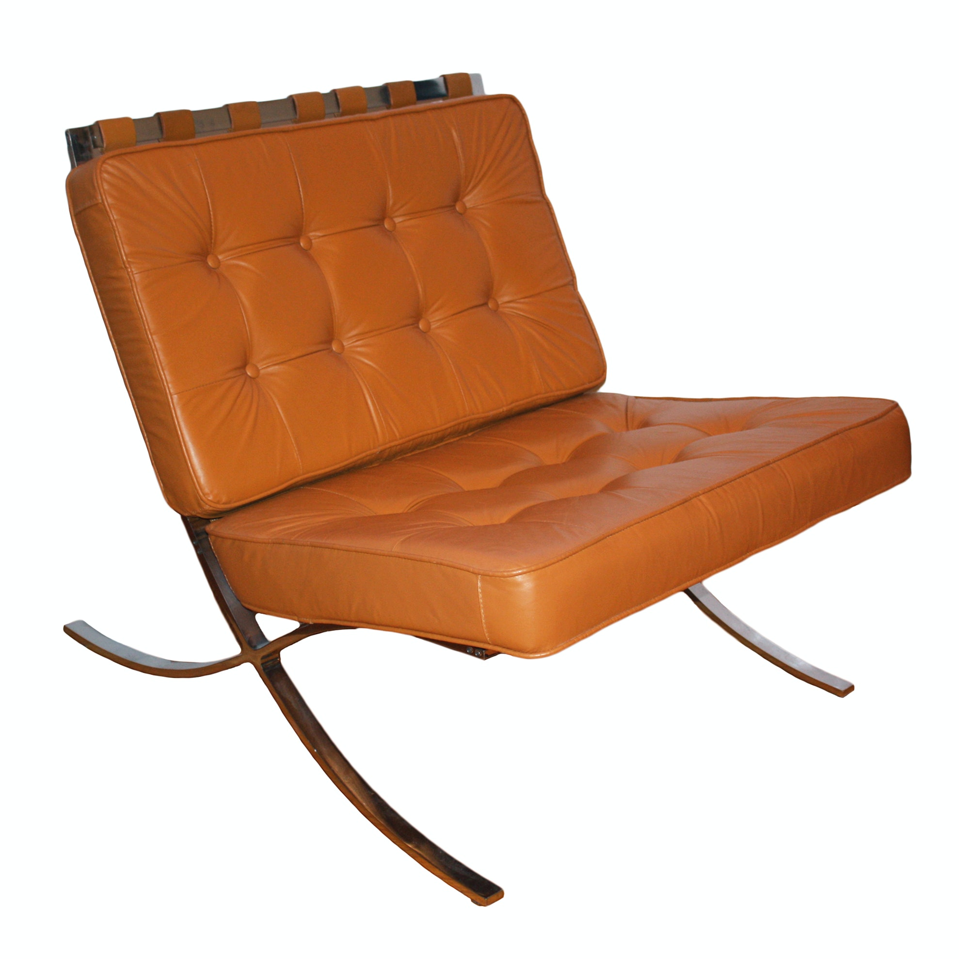 Barcelona-Style Lounge Chair
