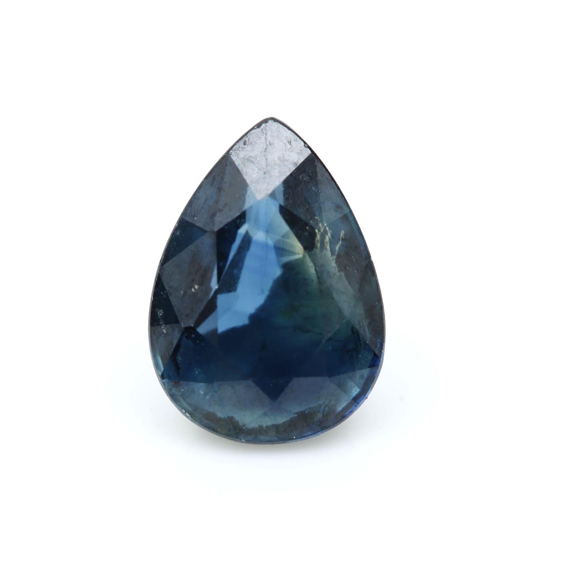 Loose 1.04 CT Sapphire Gemstone