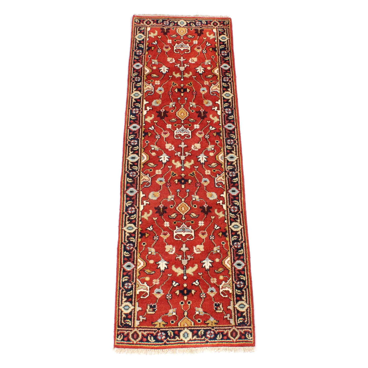 Hand Knotted Indo-Persian Tabriz Runner