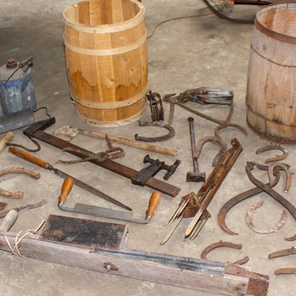 Antique and Vintage Hardware and Tools