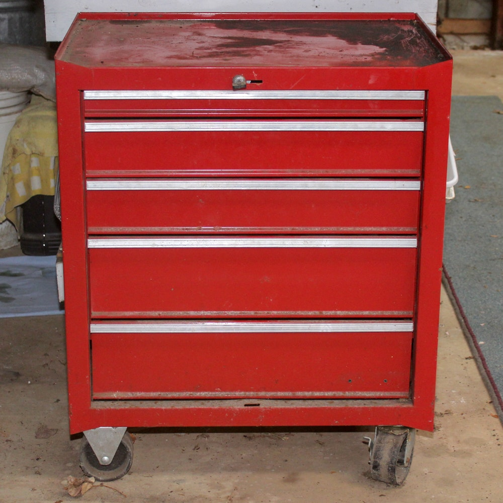 Rolling Metal Tool Chest