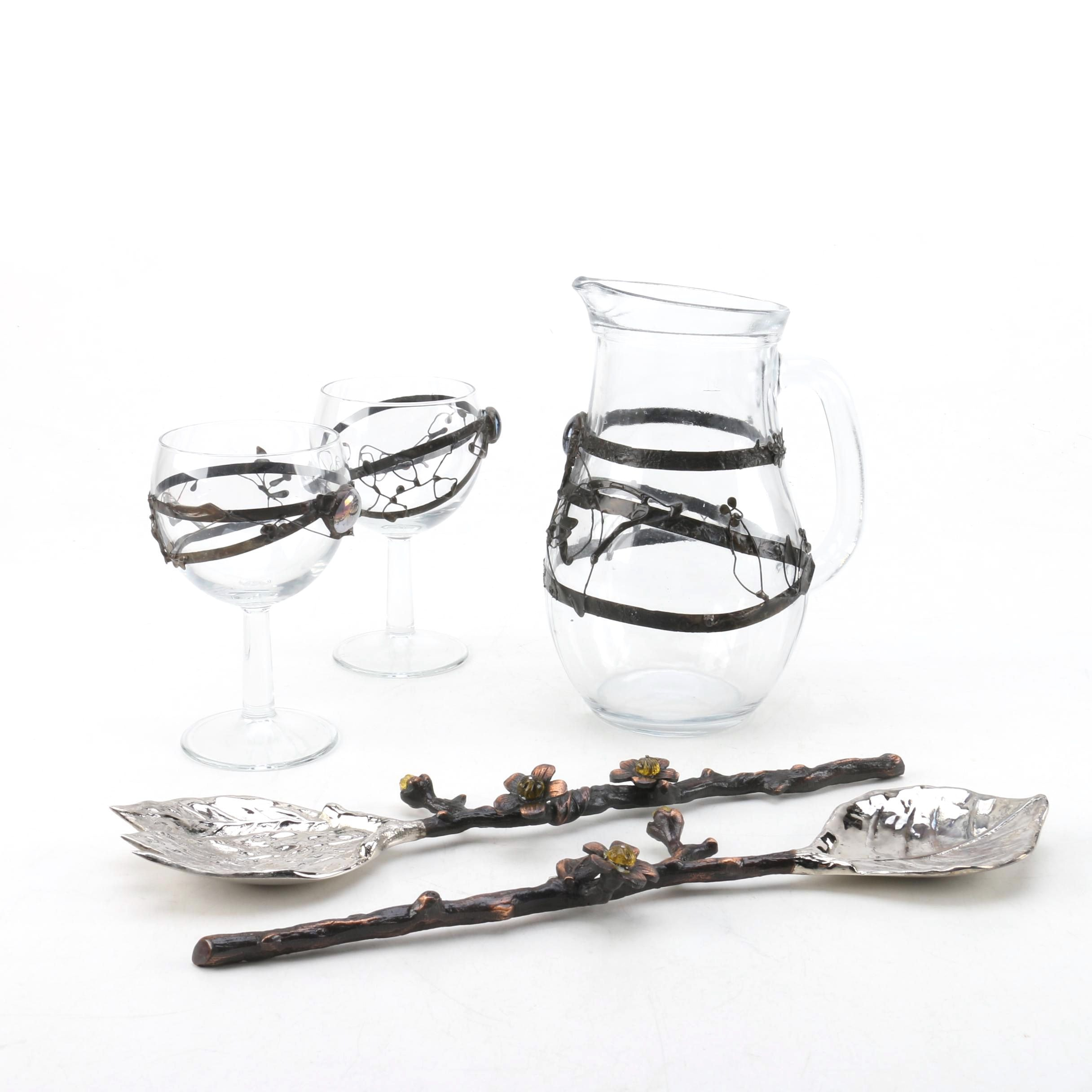 Bombay Serving Utensils and Glassware