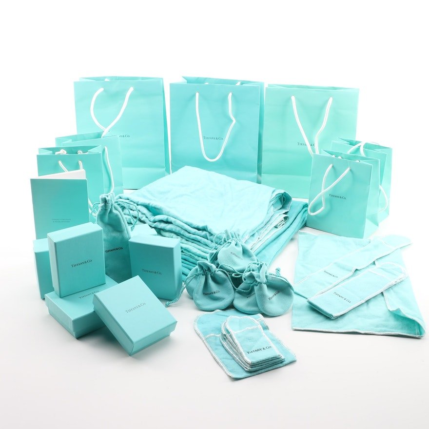 d2cd8d56e69 Tiffany & Co. Gift Bags and Boxes | EBTH
