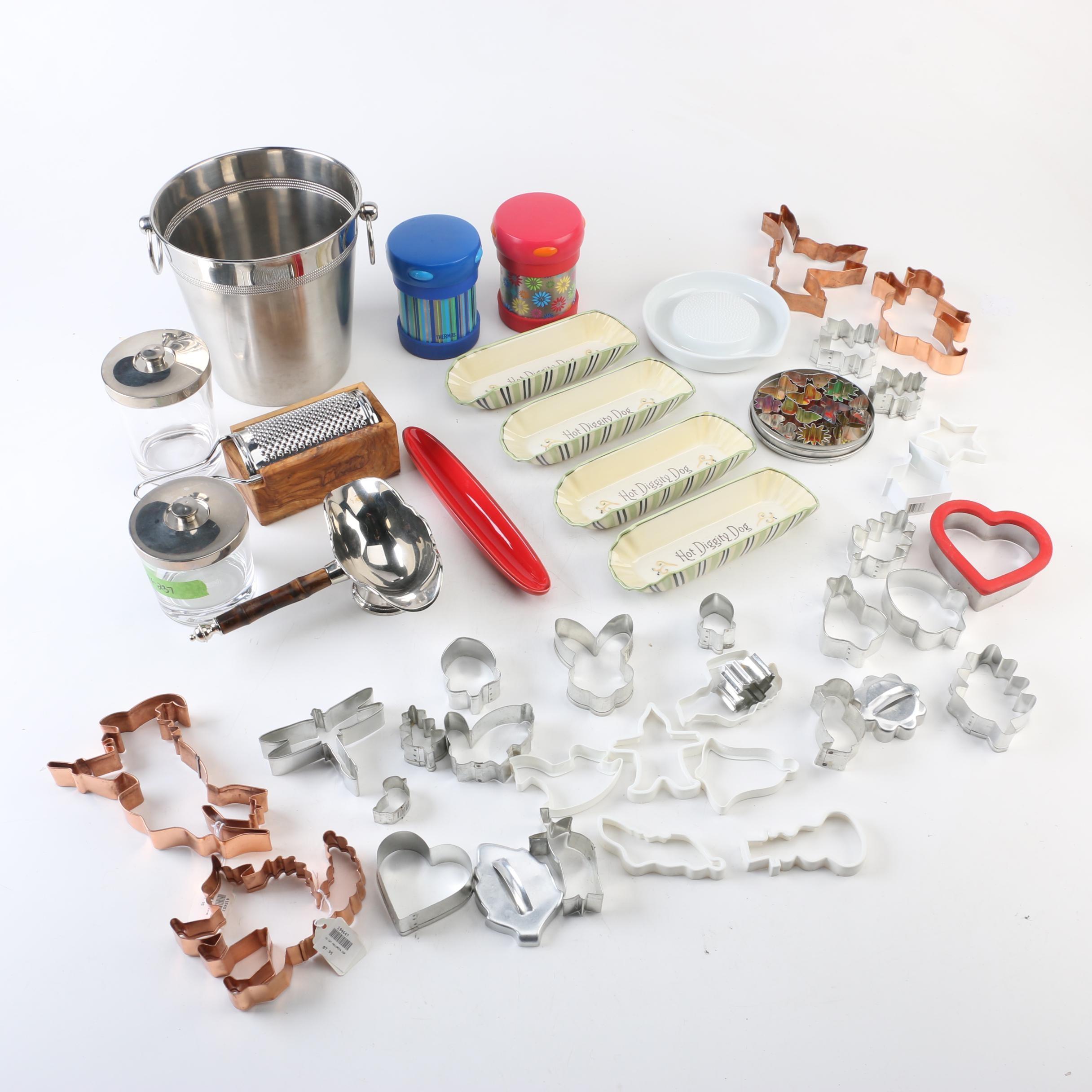 Bakeware and Kitchen Gadgets Including Restoration Hardware