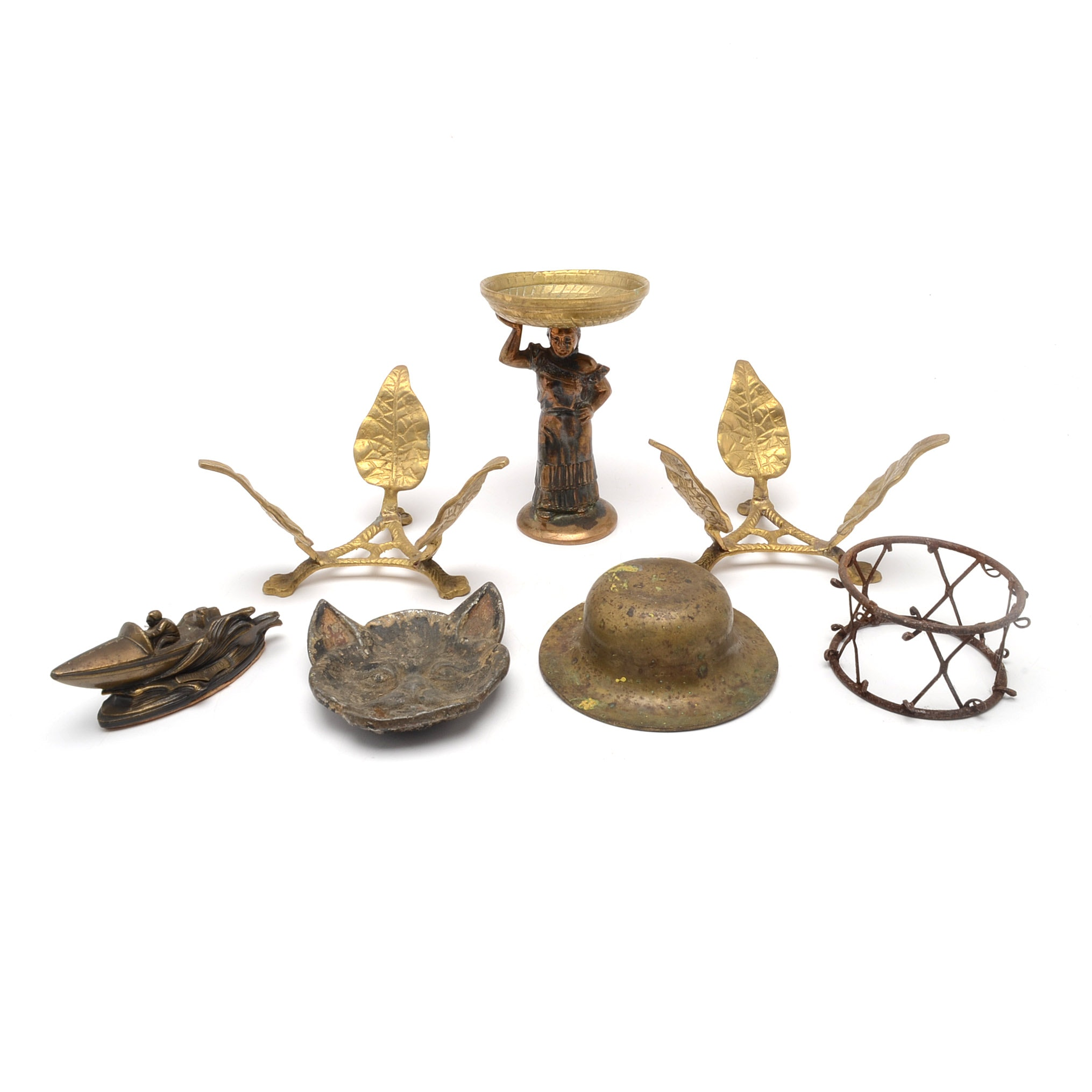 Assortment of Metal Decor