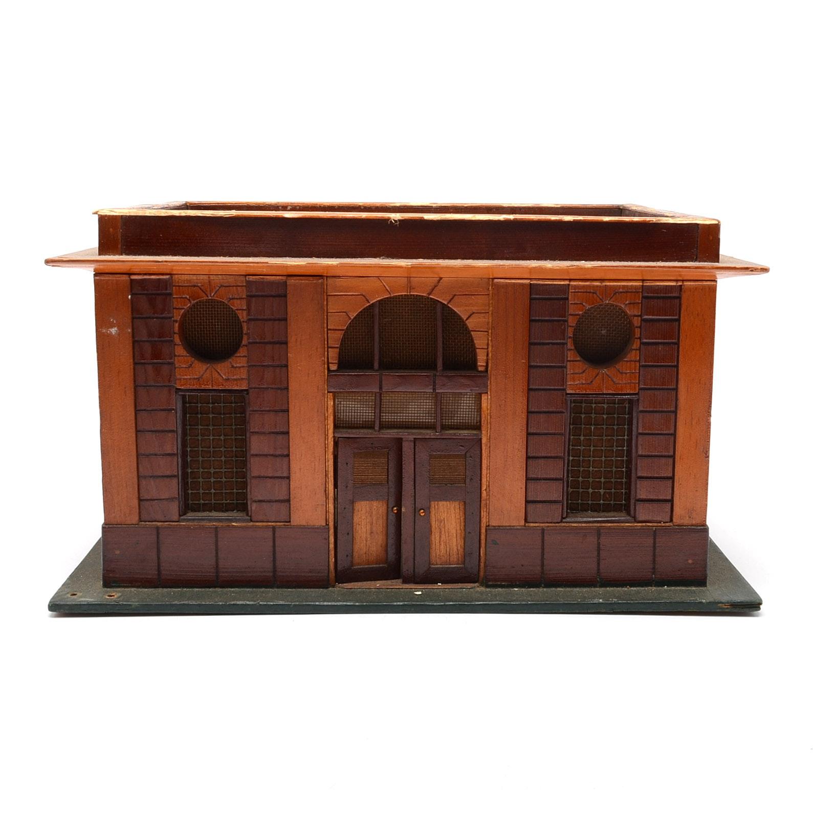 Vintage Miniature Building
