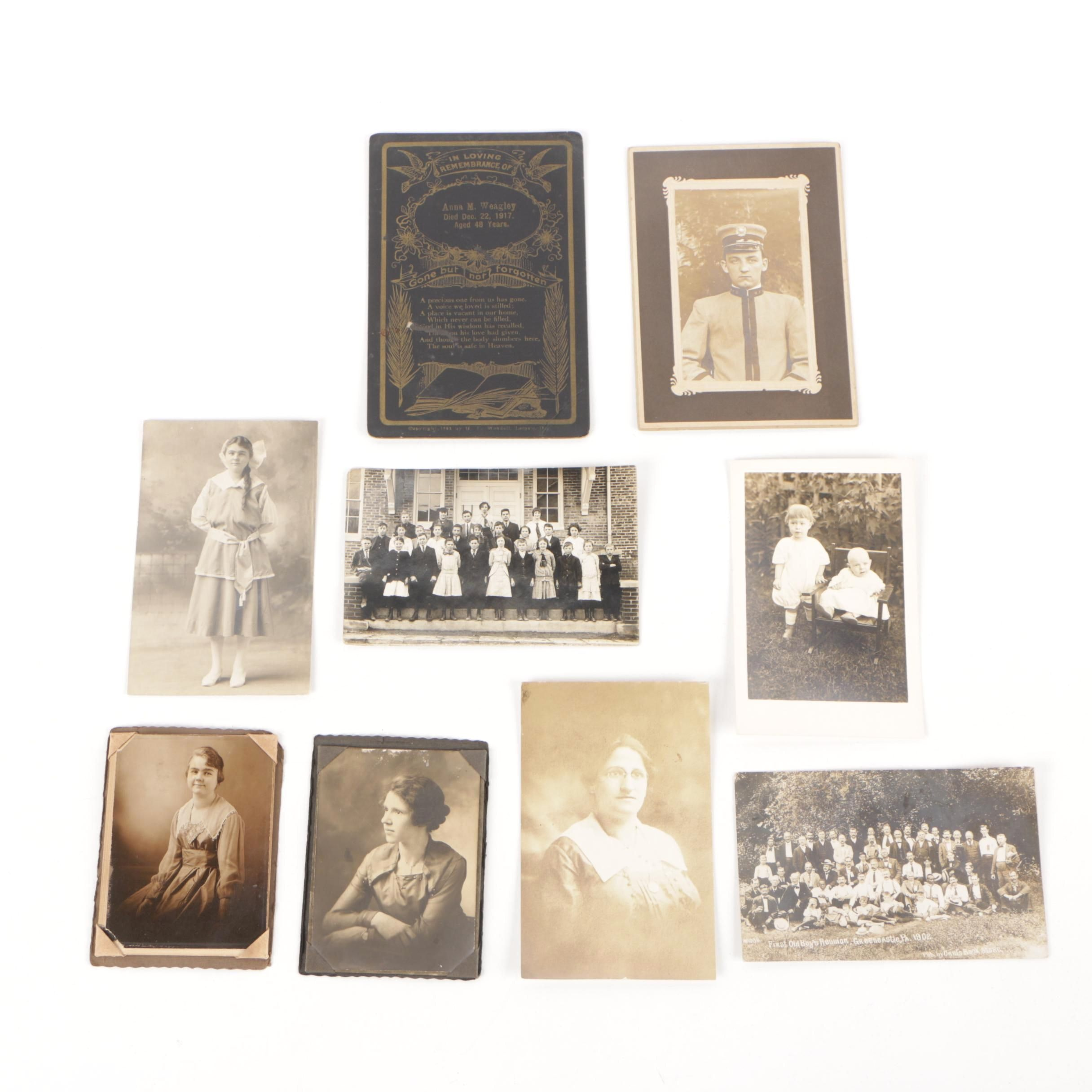 Collection of Gelatin-Silver and Albumen Photographs