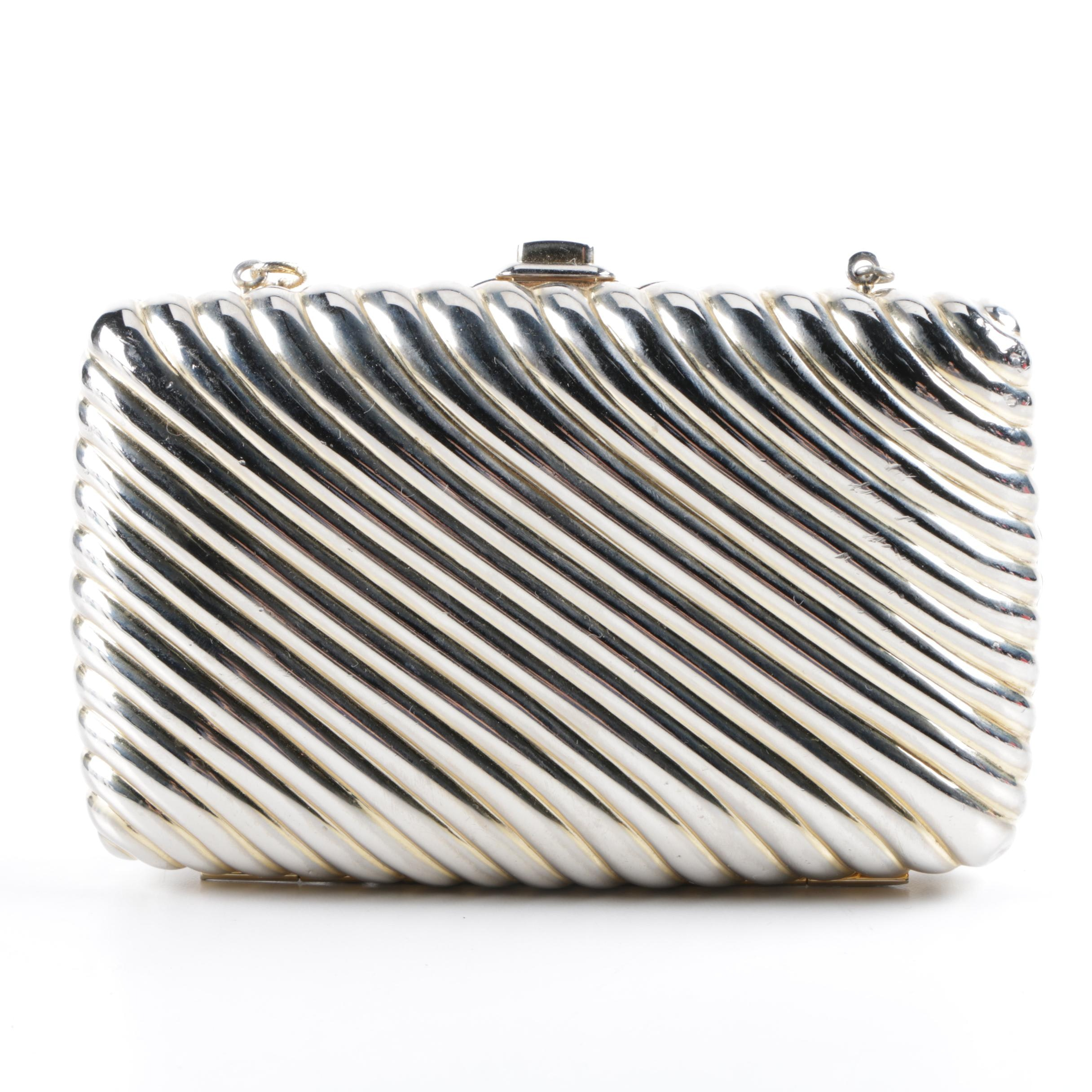 Judith Leiber Metallic Evening Bag