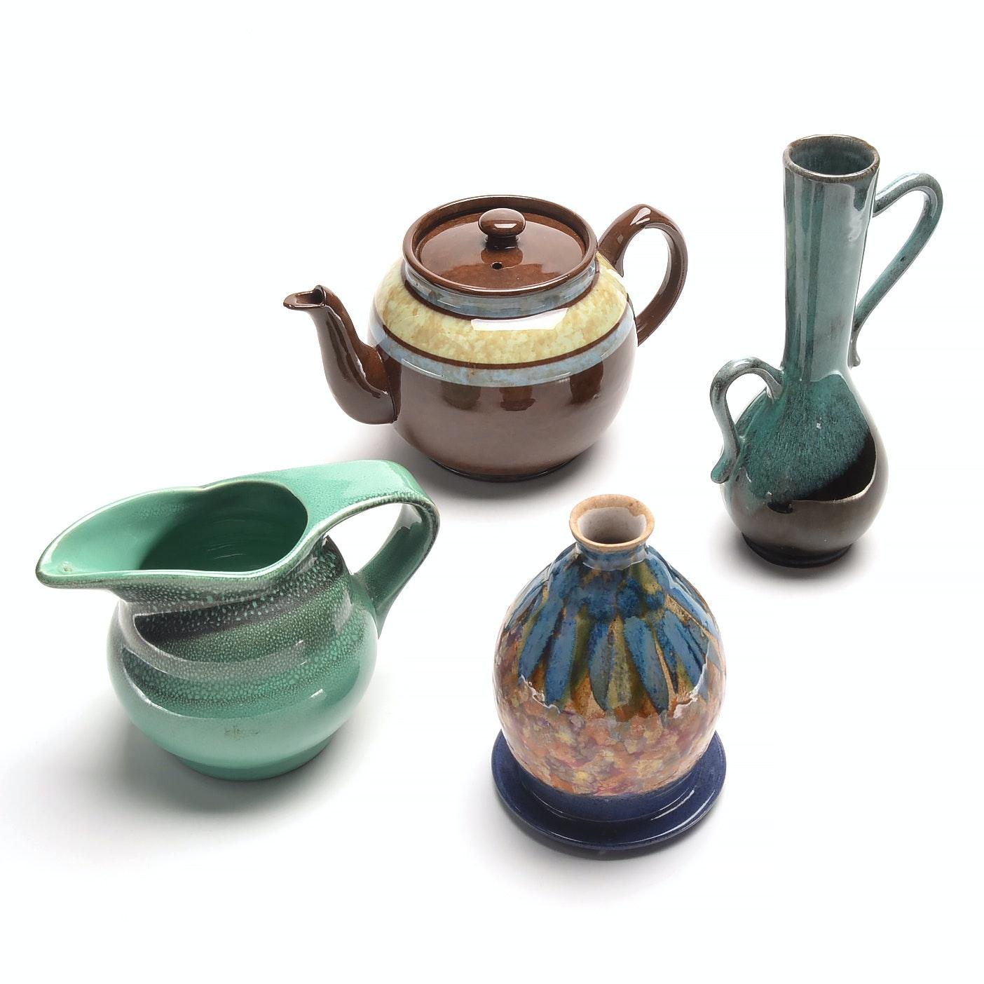 Vintage Ceramic Decor Including Royal Gouda