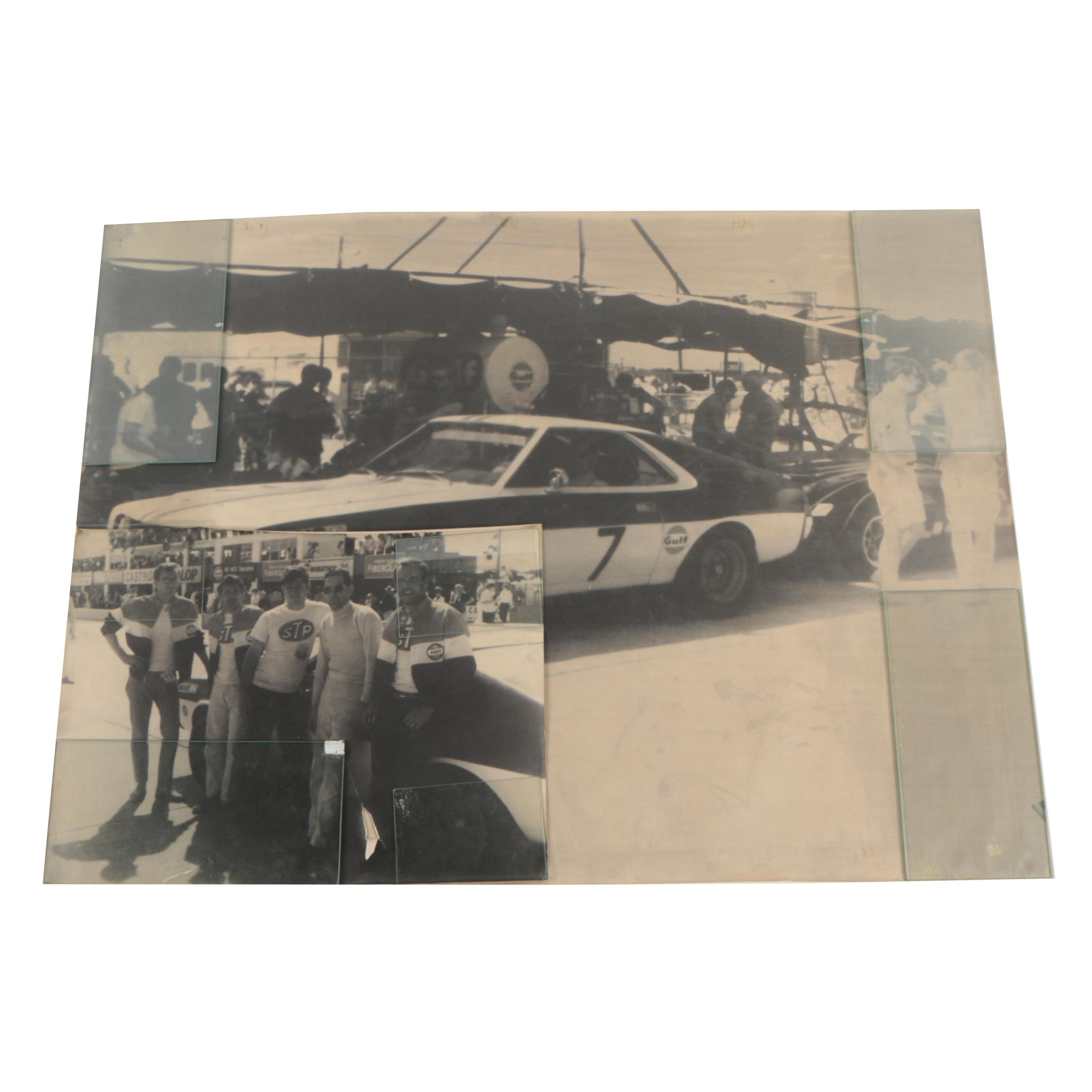 Enlarged Reproductions of Race Track Photographs