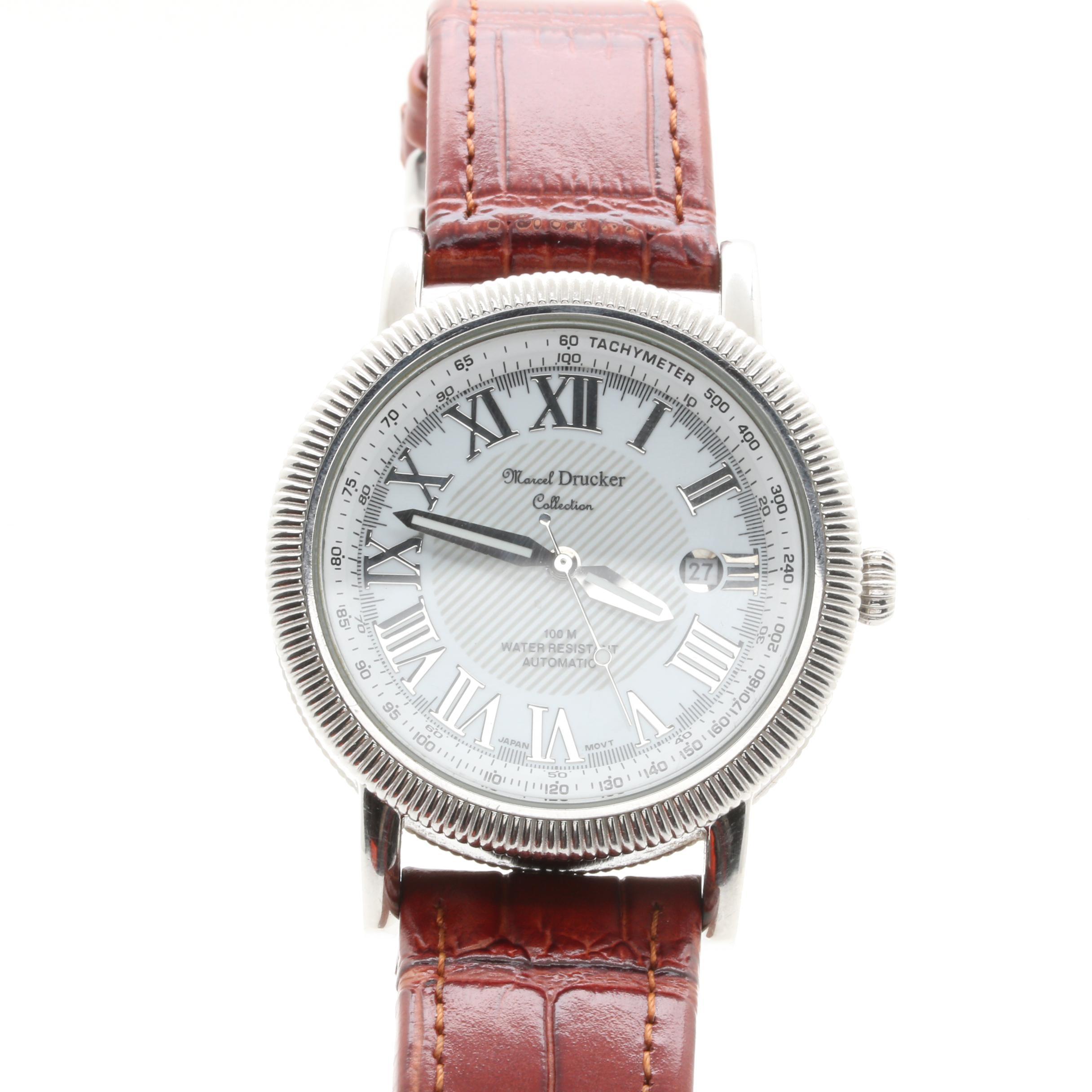Marcel Drucker Stainless Steel Wristwatch