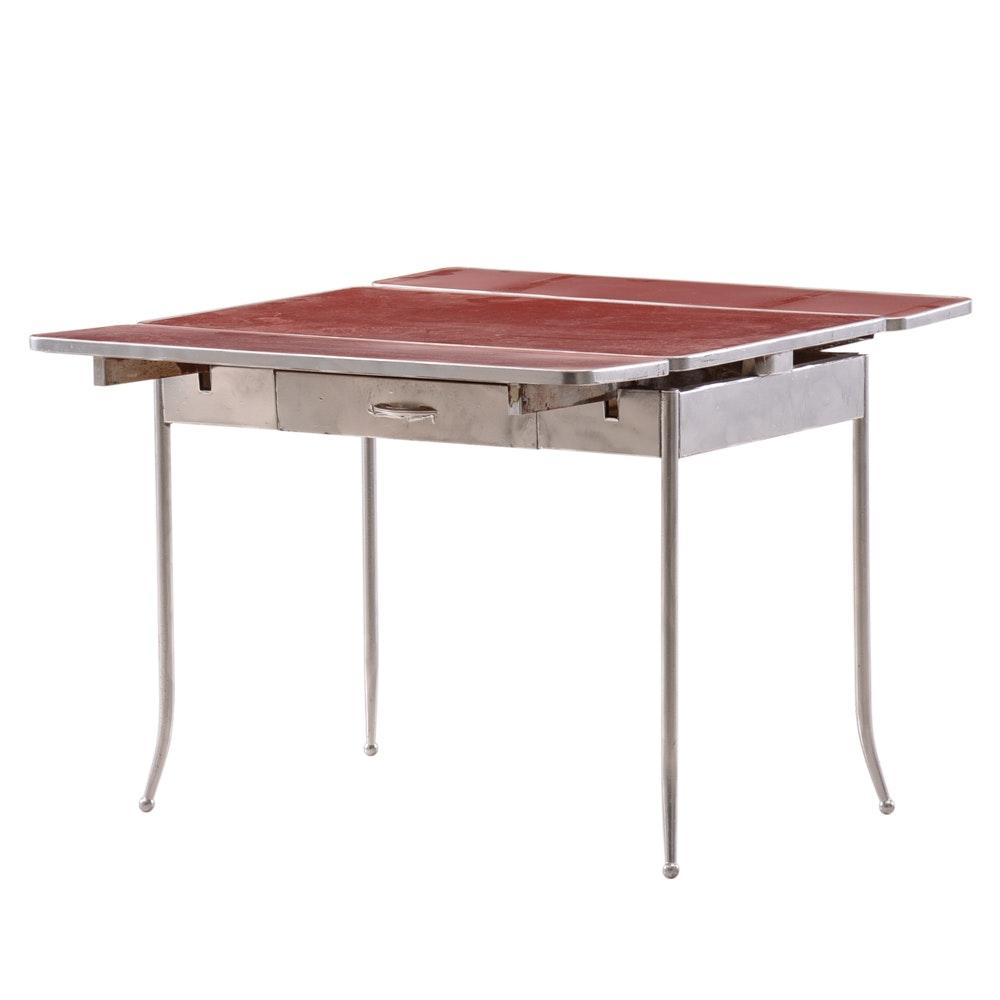 Mid Century Modern Draw Leaf Table
