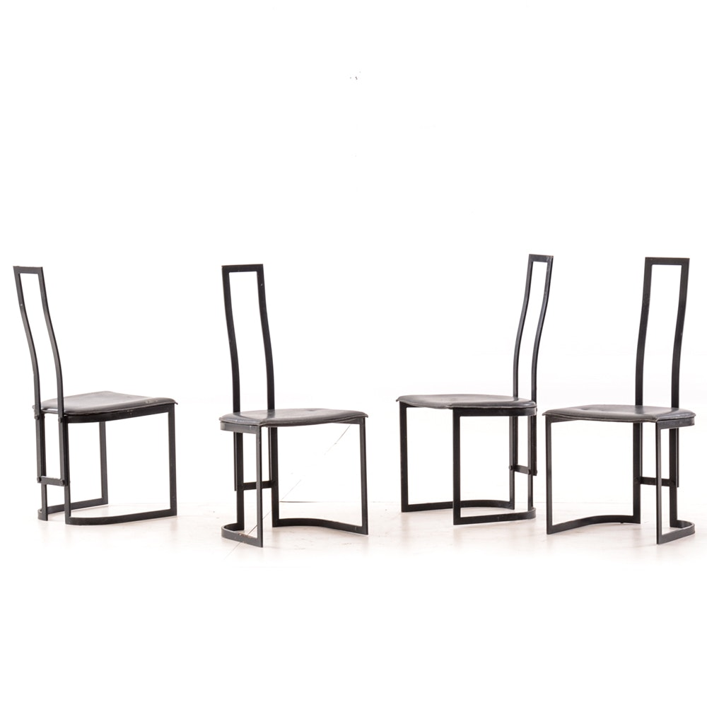 Set of Four Mid Century Modern Dining Chairs