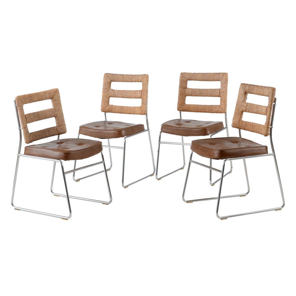 Set of Chromcraft Side Chairs