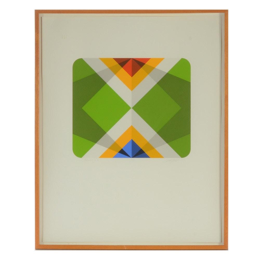 """Marko Spalatin Limited Edition Serigraph """" Rhombus III"""""""