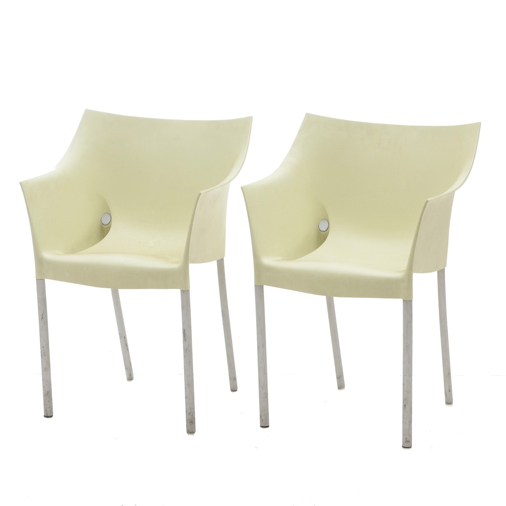 "Modernist ""Dr. No"" Armchairs by Philippe Starck for Kartell"