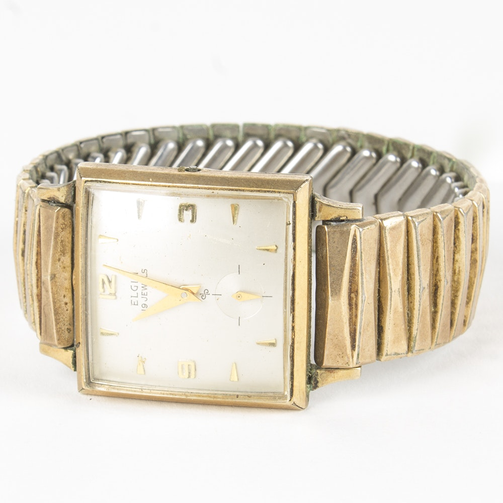 Elgin Gold Toned Wristwatch