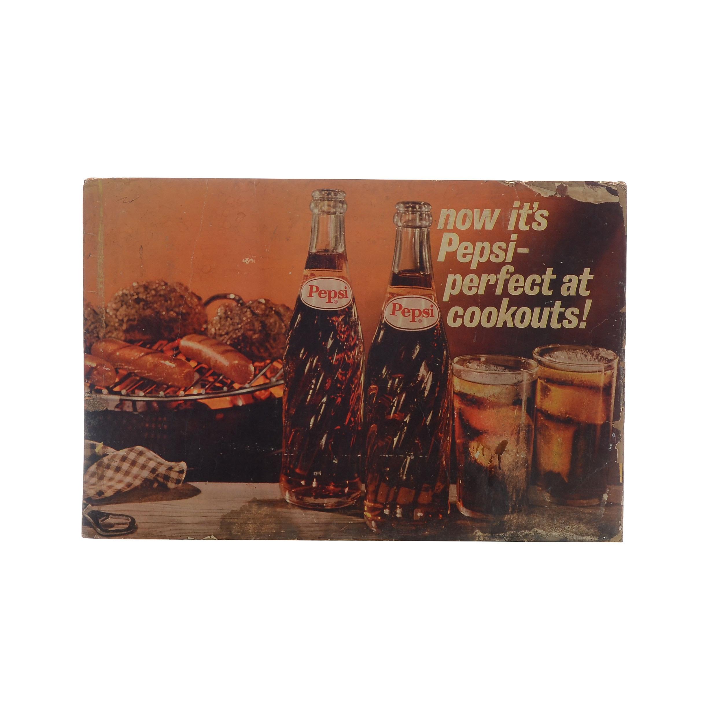 Vintage Pepsi Advertisement
