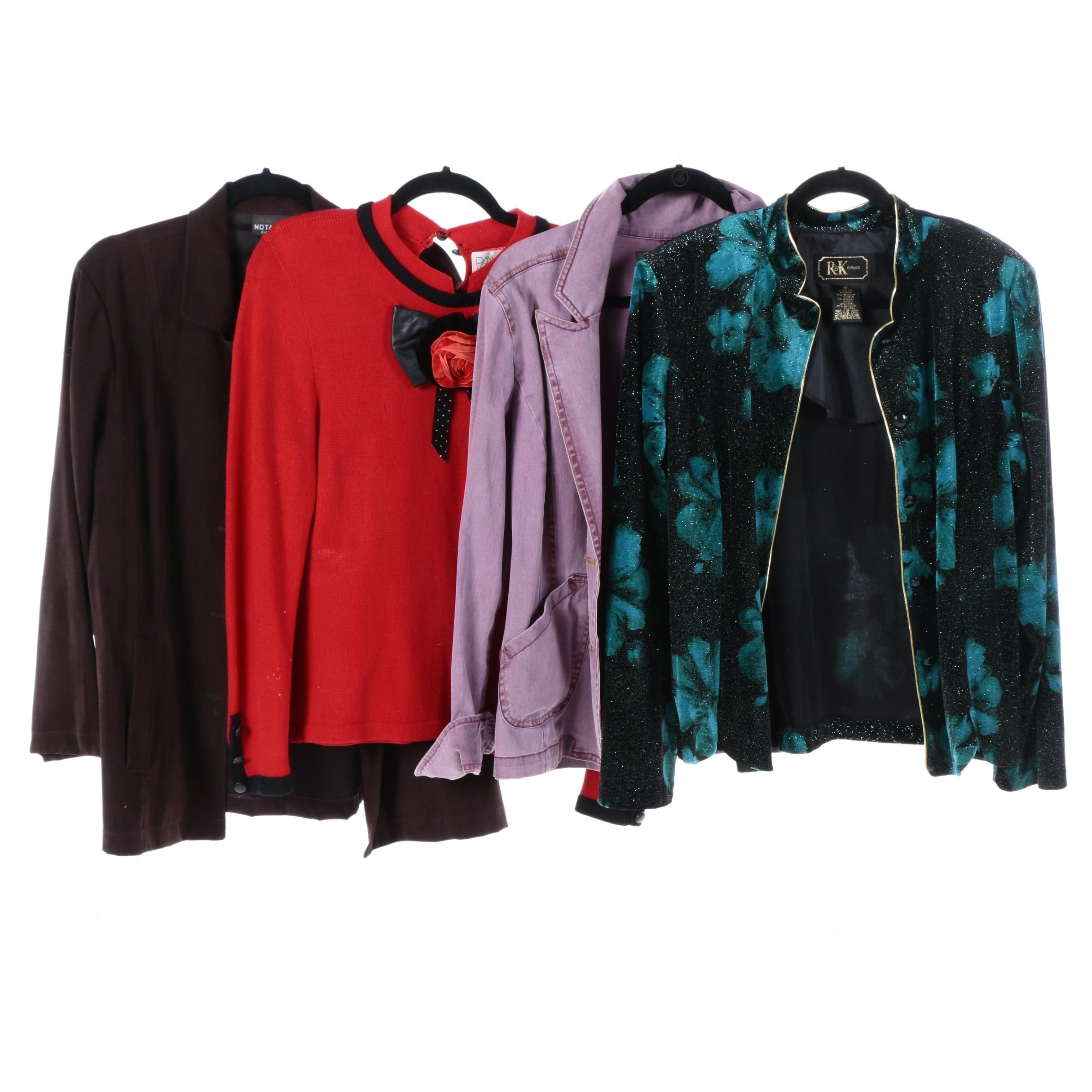 Women's Jackets Including R&K Evening
