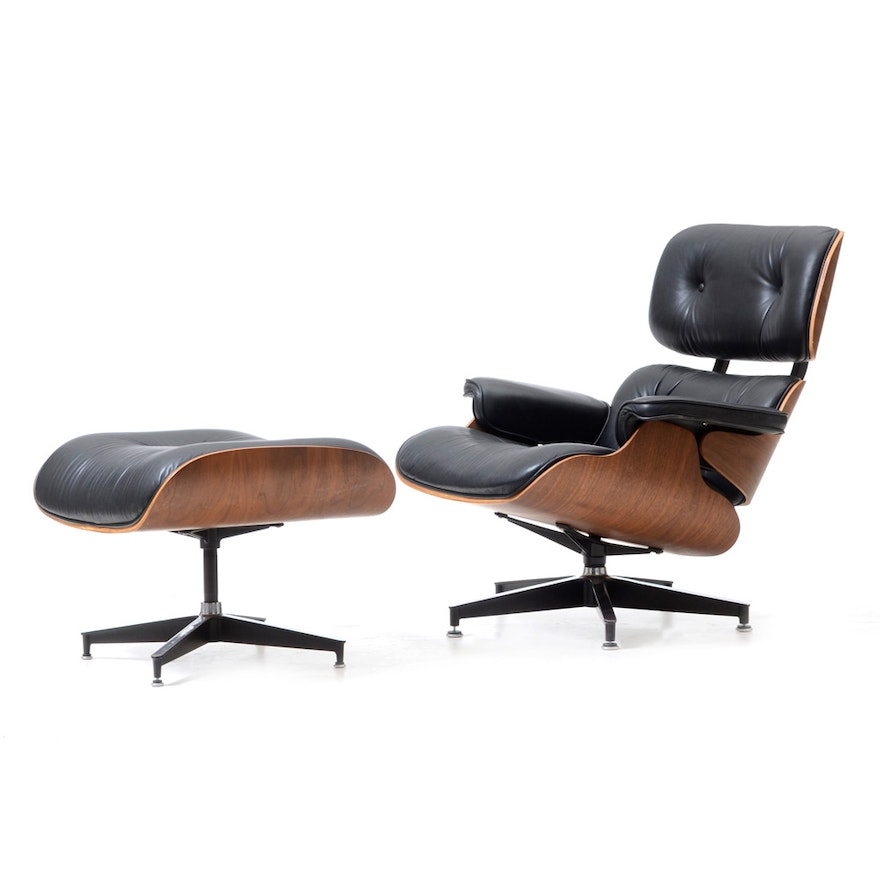 Cool Eames Style Lounge Chair With Ottoman Beatyapartments Chair Design Images Beatyapartmentscom