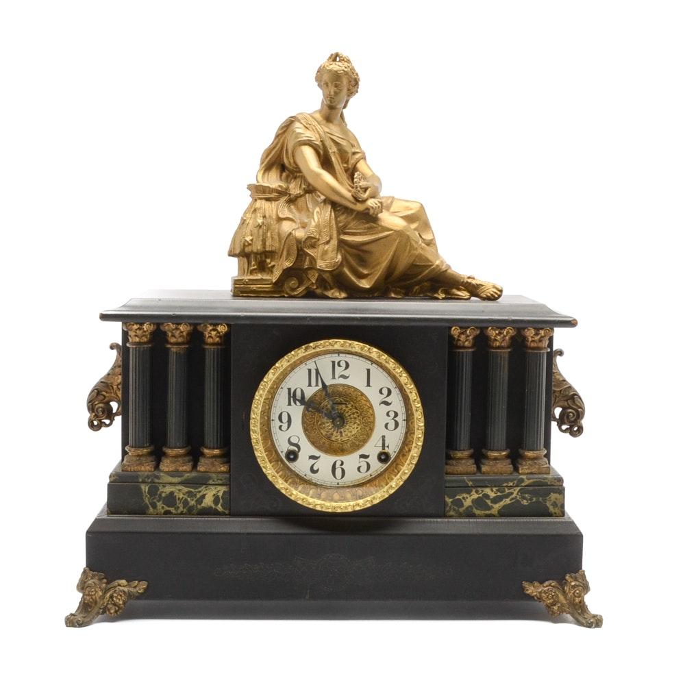 Vintage E. Ingraham Mantel Clock