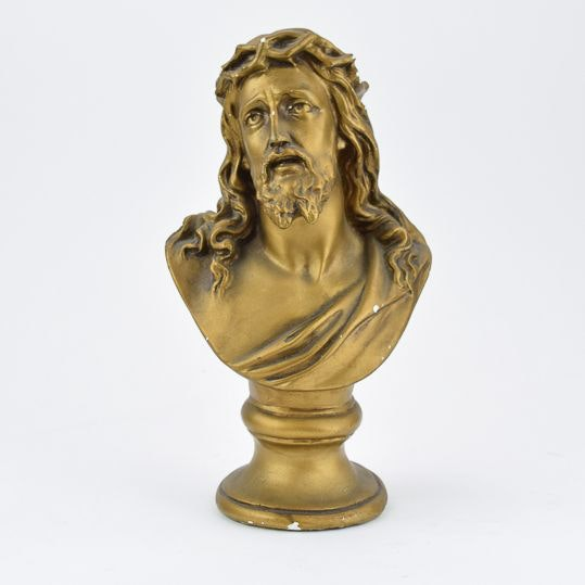 Plaster Bust of Jesus Christ