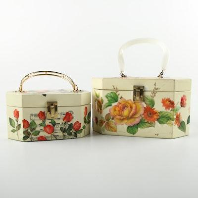Circa 1960s Vintage Annie Laurie Originals Box Handbags
