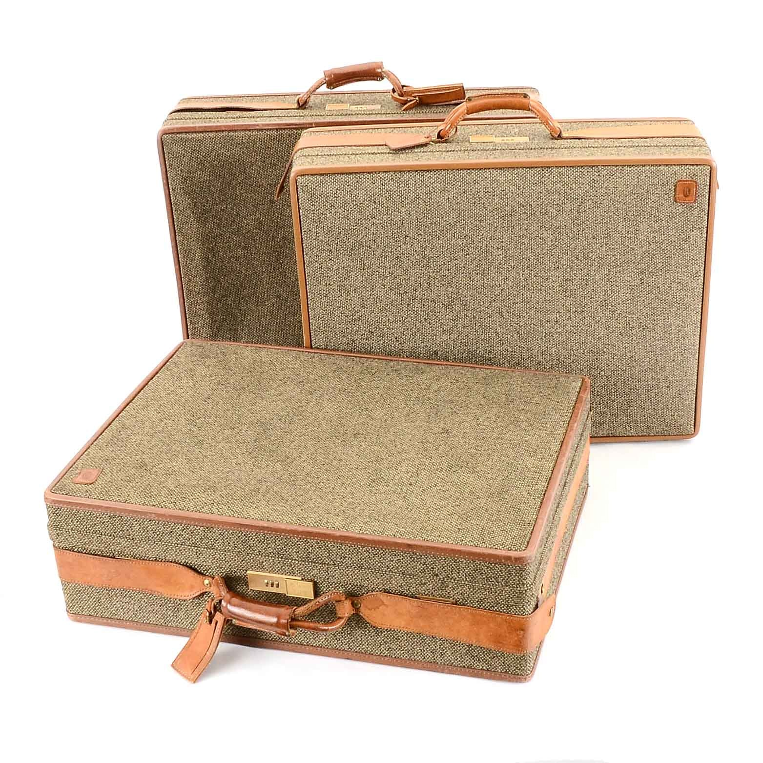 Group of Vintage Hartmann Suitcases
