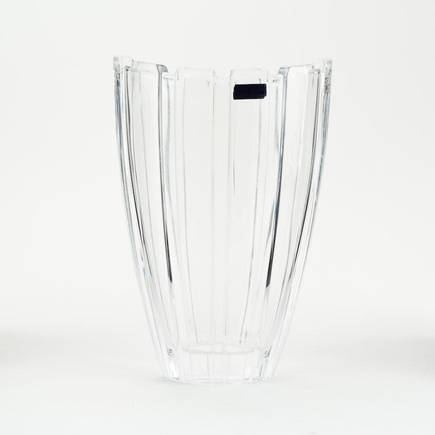 Marquis By Waterford Glacier Lead Crystal Vase Ebth