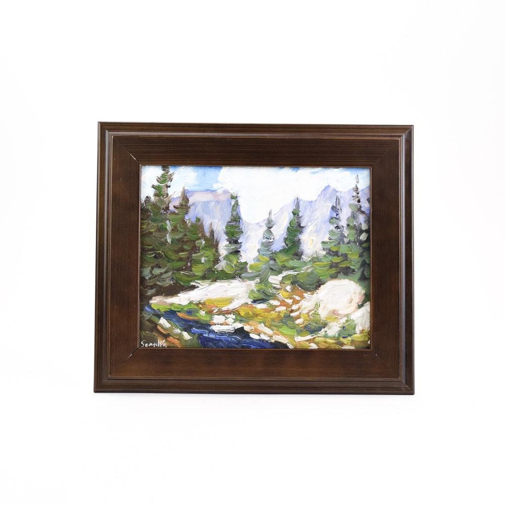 Sean Wu Plein Air Oil Painting