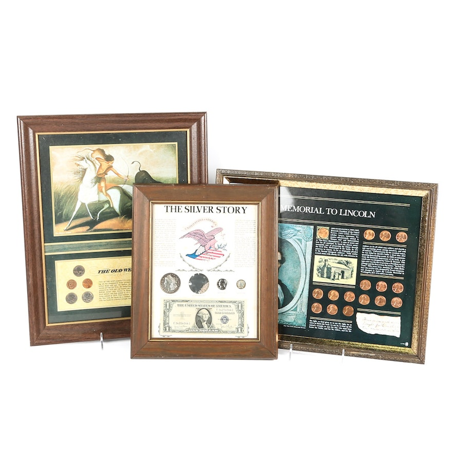 Framed Currency Collections : EBTH