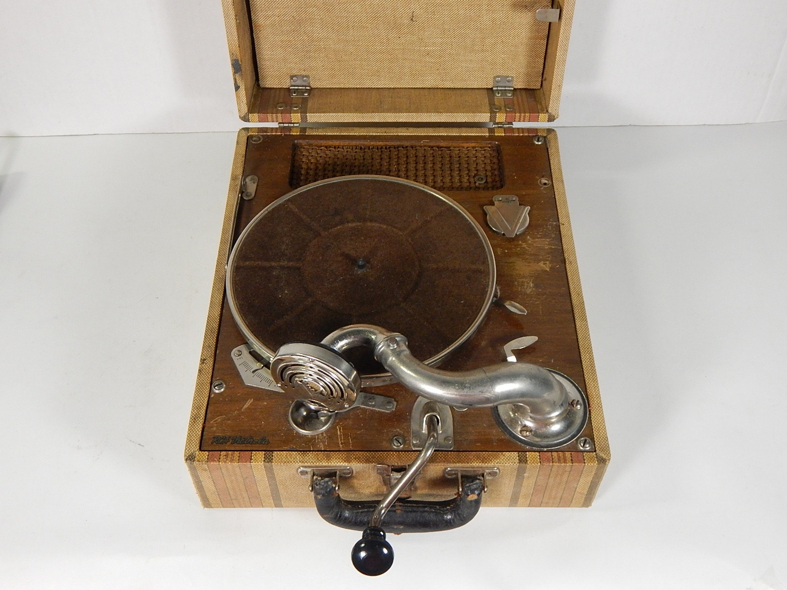 RCA Tabletop Victrola in Case