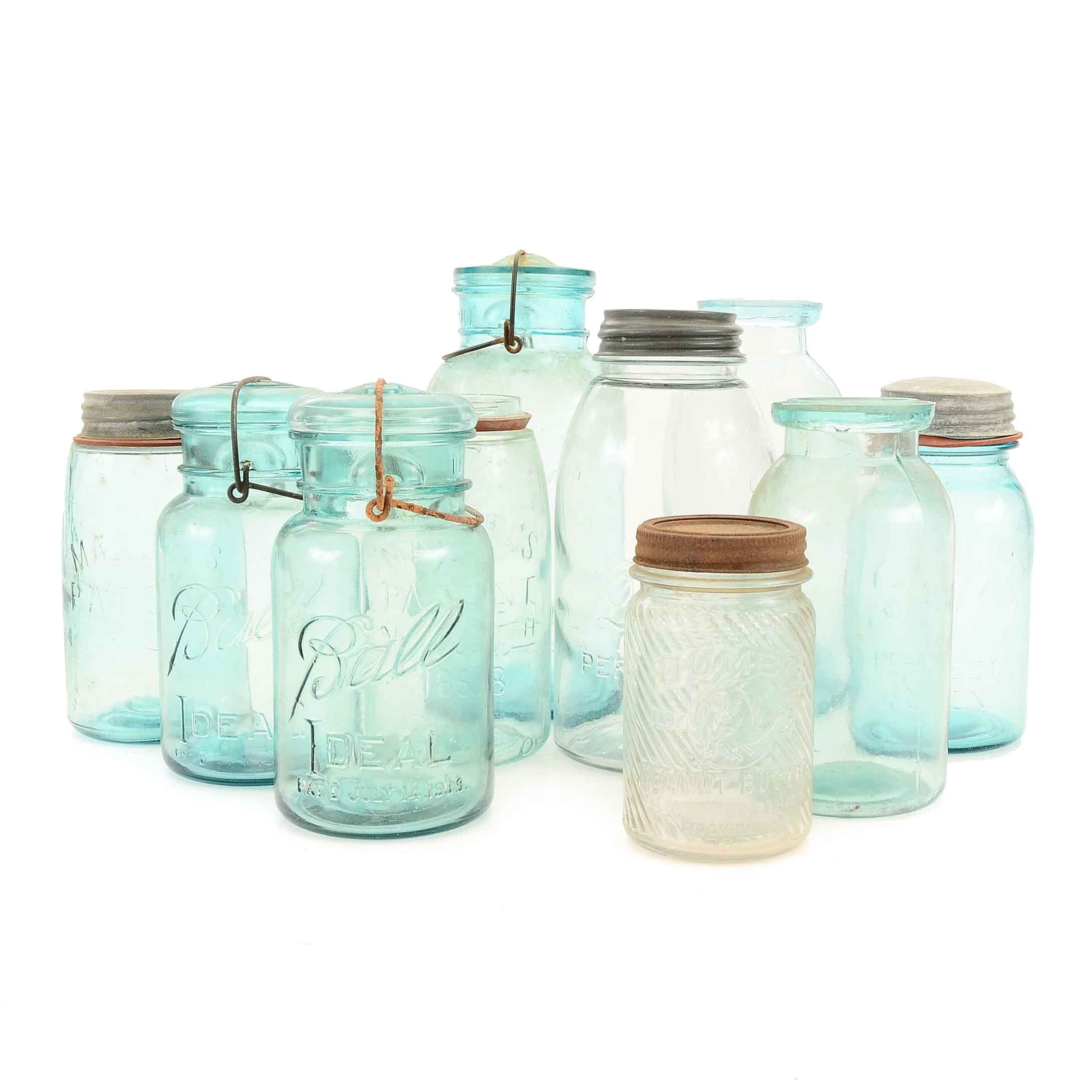 Collection of Decorative Jars