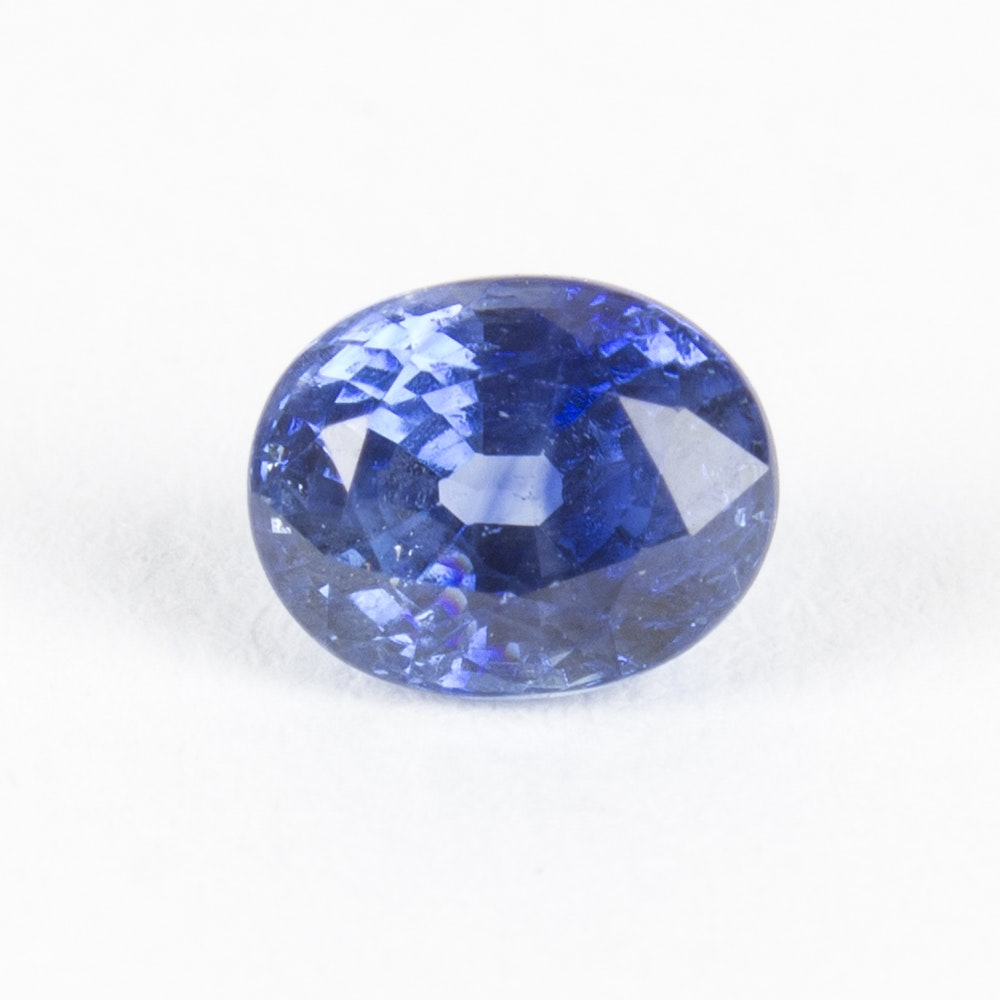 Sapphire Loose Stone Including GIA Certificate