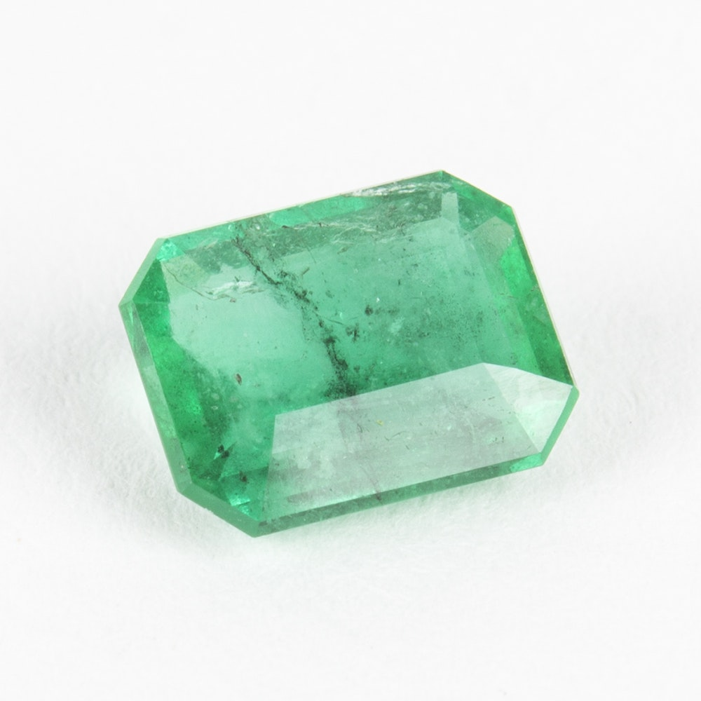 Emerald Loose Stone Including GIA Certificate