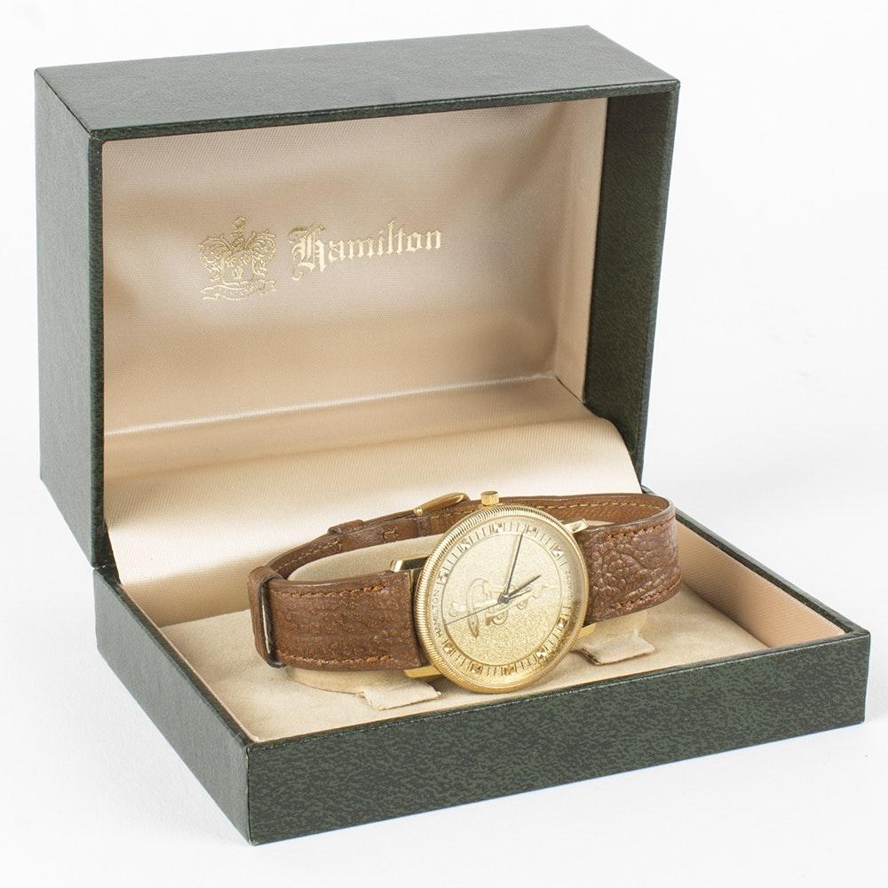 Hamilton Wristwatch on Antelope Band
