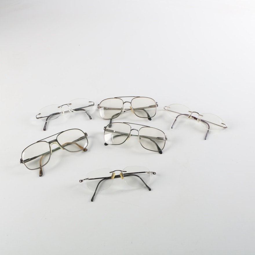a21bb474422 Vintage Eyeglasses Including Marcolin   EBTH