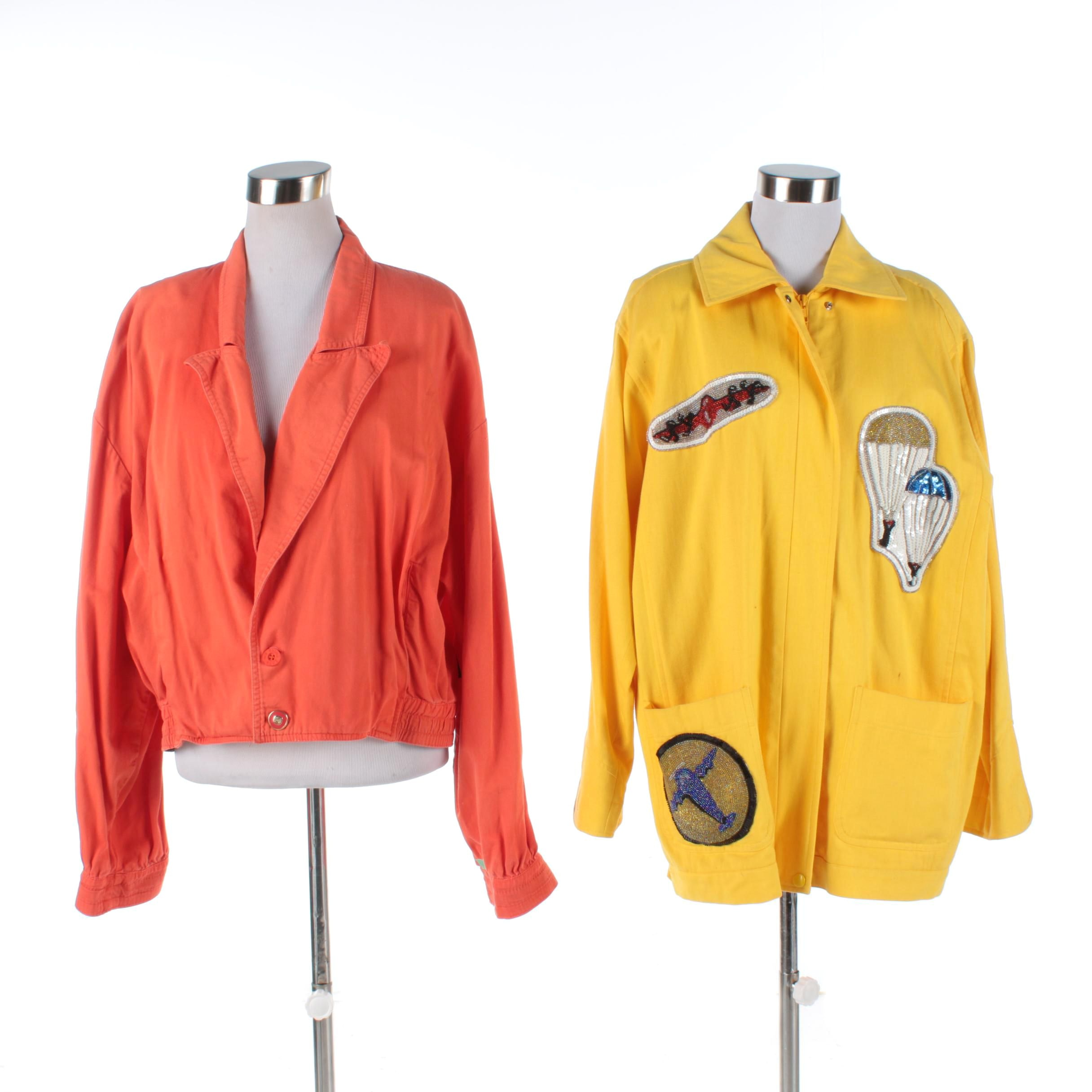 Women's Colorful Denim Jackets Including Gene Ewing BIS