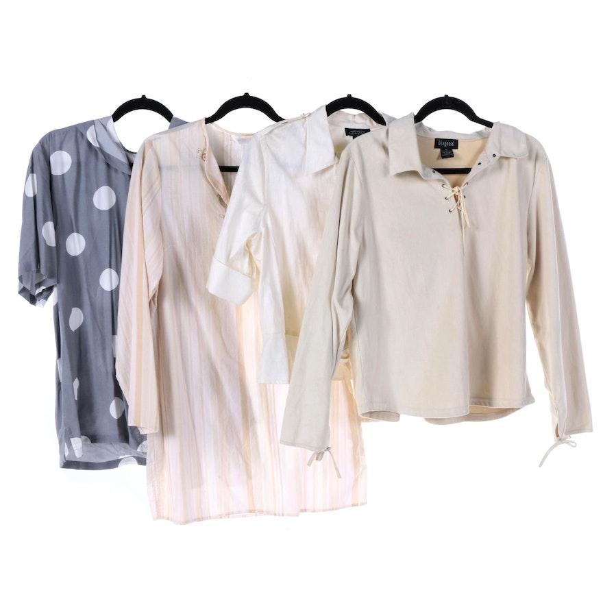 43df7c9587d0d Women s Shirts and Blouses Including Jones New York Signature   EBTH