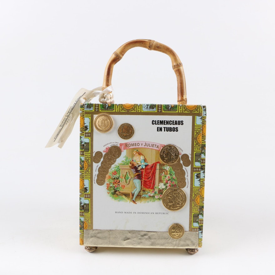 ef2841b5ff45 Handmade Romeo Y Julieta Cigar Box Bag   EBTH