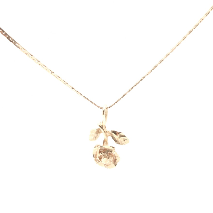 diamonds gold diamond flower pendant rose white majesty necklace