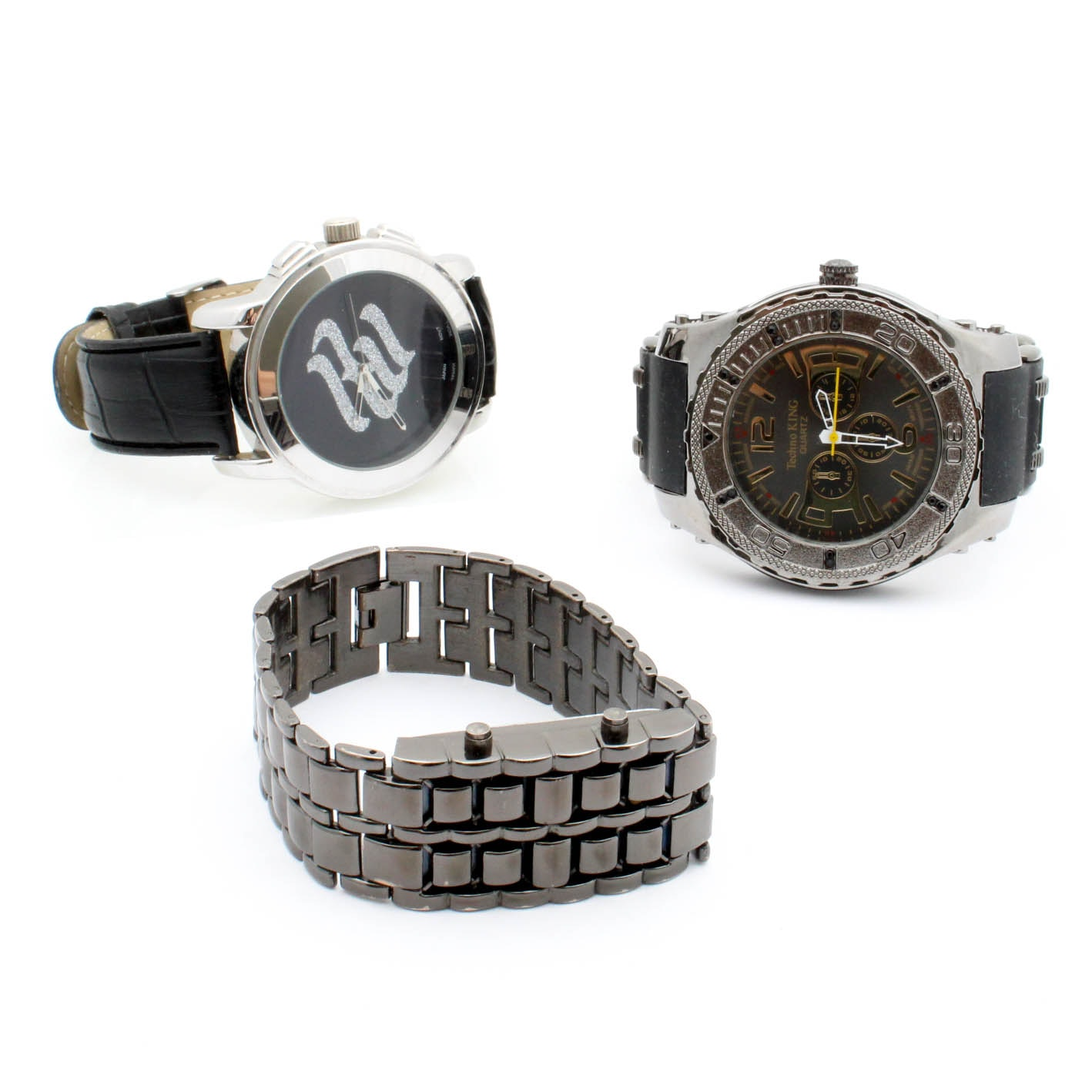 Wristwatches Featuring Rocawear, Techno King